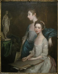 Thomas Gainsborough - Ritratto of i Artist's Figlie
