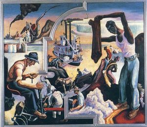 Thomas Hart Benton - Deep South