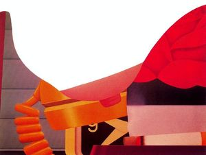 Tom Wesselmann - Camera da letto pittura
