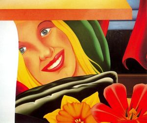 Tom Wesselmann - Camera da letto pittura  9