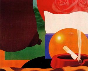 Tom Wesselmann - Camera da letto pittura  13