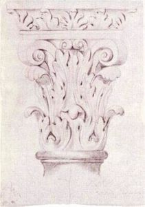 Vincent Van Gogh - Corinthian Capital