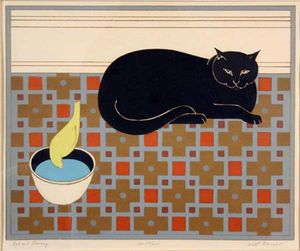Will Barnet - Gatto e Canary