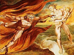 William Blake - Il Bene e il Male Angels