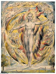 William Blake - Il Sole alla sua porta orientale