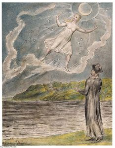 William Blake - The Wandering Luna