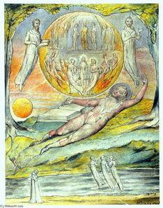William Blake - La giovanile Poet`s sogno