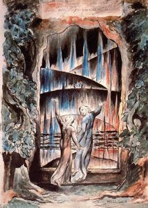 William Blake - Dante e Virgilio alle porte dell Inferno