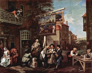 William Hogarth - Propaganda elettorale