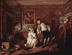 William Hogarth - il omicidio famigerato Antartico calcolare
