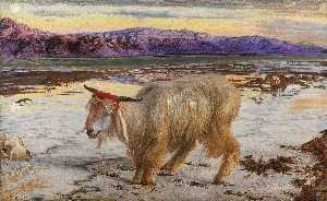 William Holman Hunt - Il capro espiatorio