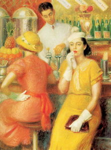 William James Glackens - Chiosco delle bibite
