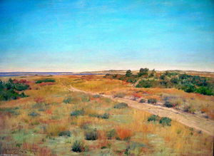 William Merritt Chase - primo toccare famigerato autunno