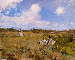 William Merritt Chase - Shinnecock Paesaggio 03