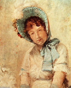 William Merritt Chase - Ritratto di Harriet Hubbard Ayers