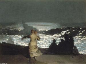 Winslow Homer - estate notte