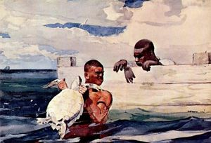 Winslow Homer - The Turtle Pound
