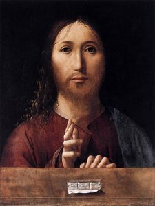 Antonello Di Giovanni Di Antonio (Antonello Da Messina) - Salvator Mundi