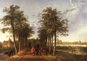 Aelbert Jacobsz Cuyp - The Avenue a Meerdervoort