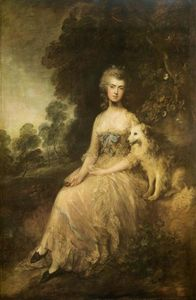 Thomas Gainsborough - Sig ra . Maria Robinson ( --Perdita-- )