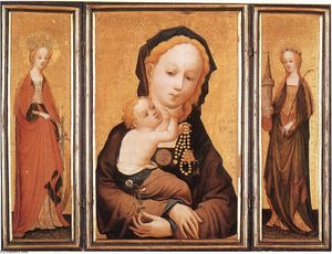 Master Of Saint Veronica - trittico