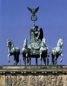 Johann Gottfried Schadow - Quadriga