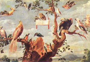 Frans Snyders - concerto di uccelli