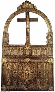 Danish Unknown Goldsmith - La Golden Altar di Lisbjerg