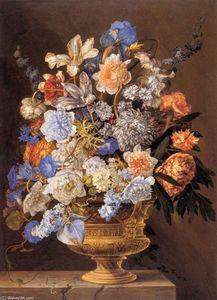 Jacques Ii Bailly - bouquet di fiori