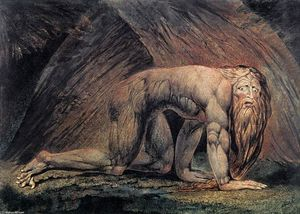 William Blake - Nabucodonosor