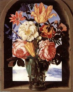 Ambrosius Bosschaert The Elder - bouquet di fiori