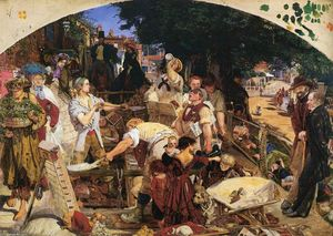 Ford Madox Brown - lavorare