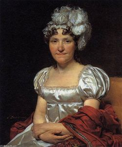 Jacques Louis David - Ritratto di Marguerite-Charlotte David