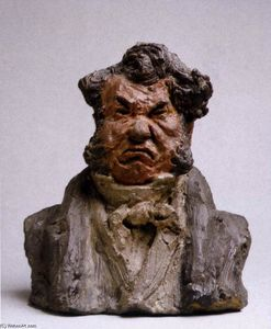 Honoré Daumier - Laurent Cunin, Politico (The Angry Man)