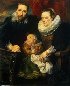 Anthony Van Dyck - famiglia ritratto