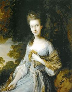 Thomas Gainsborough - Ritratto di Sarah Buxton