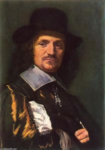 Frans Hals - Il pittore Jan Asselyn