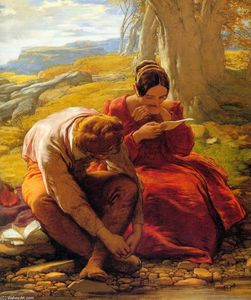 William Mulready The Younger - The Sonnet