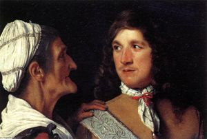Michael Sweerts - Young Man e il Procuress