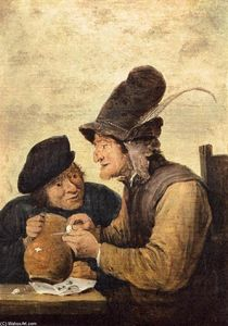 David The Younger Teniers - Due Drunkards