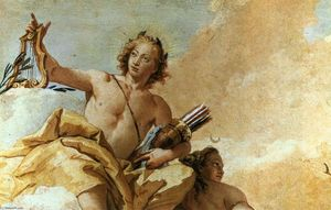 Giovanni Battista Tiepolo - Apollo e Diana