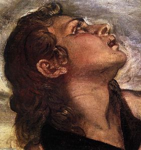 Tintoretto (Jacopo Comin) - crocifissione detail 10