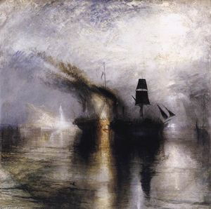 William Turner - La pace sepoltura tuttal più mare