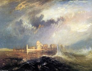 William Turner - Quillebeuf, alla Bocca di Seine