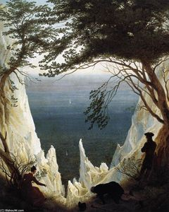 Caspar David Friedrich - chalk cliffs su rügen