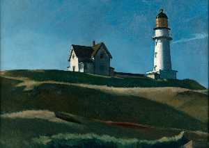Edward Hopper - Faro Collina