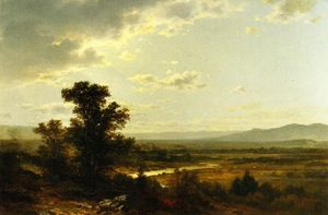 John William Casilear - Guardando Verso Catskills