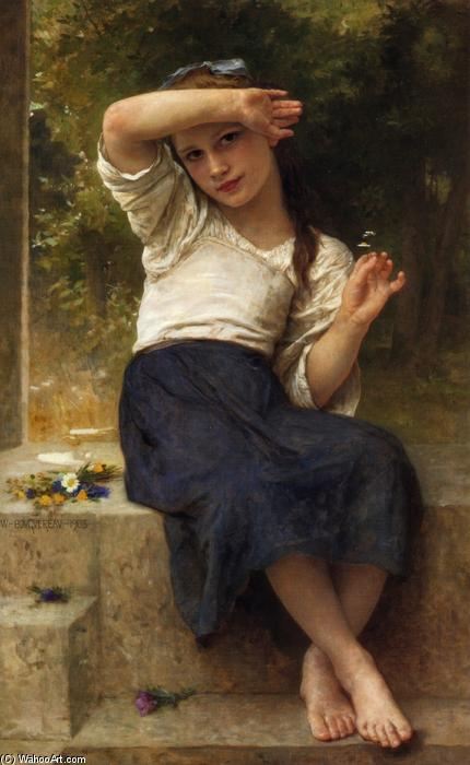 Margherita, olio su tela di William Adolphe Bouguereau (1825-1905, France)