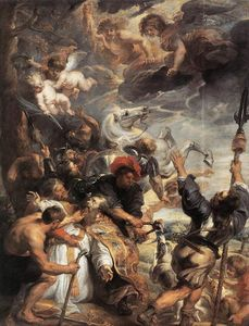 Peter Paul Rubens - il martirio of S . null