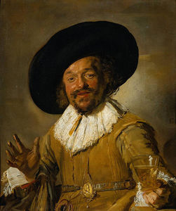 Frans Hals - The Merry bevitore